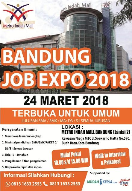 Bursa Kerja di Bandung Timur