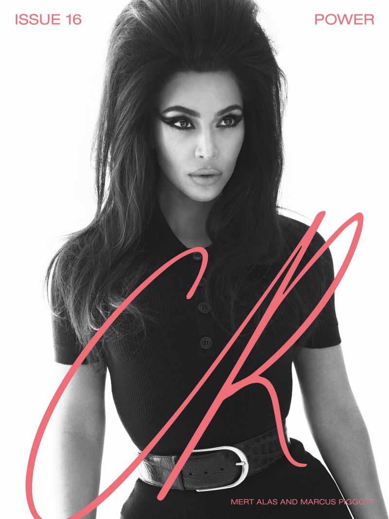 Kim Kardashian on CR Fashion Book #16 Cover