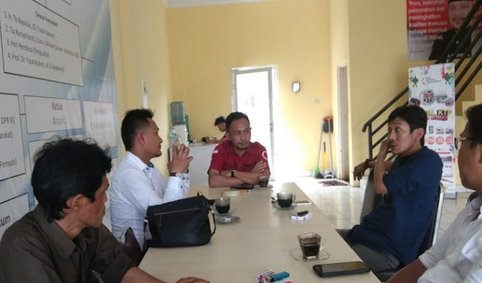 Tingkatkan Kemitraan, Kadin Kabupaten Serang Kunjungi Kantor FJSR