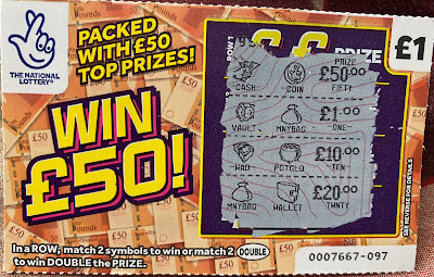 £1 Win £50