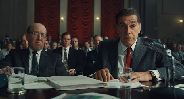 Al Pacino as Jimmy Hoffa in The Irishman