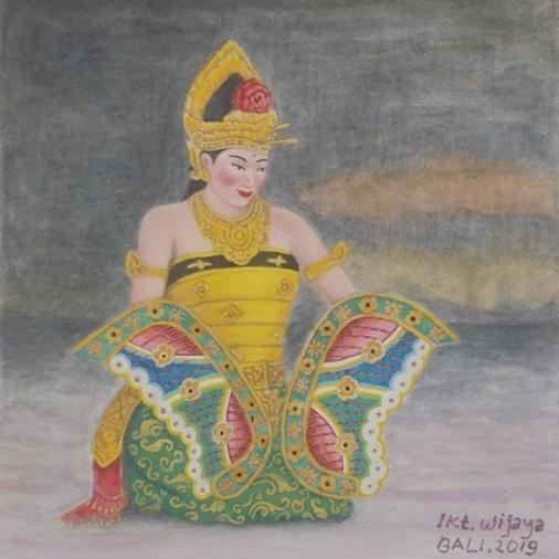 Kupu Kupu Tarum Dance Bali, Tari Kupu Kupu Tarum Bali