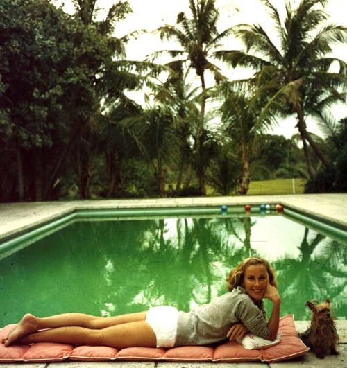 Palm Beach Chic Circa 1990s: Paule Ka Goes Retro Chic In Palm Beach
