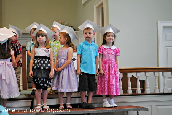 Preschool Graduation, Serenity Now blog