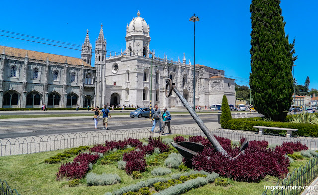 fachada do Mosteiro dos Jerónimos, Lisboa
