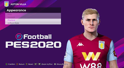 PES 2020 Faces Matt Targett by Rachmad ABs