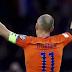 Robben Hangs Up Netherlands Boots