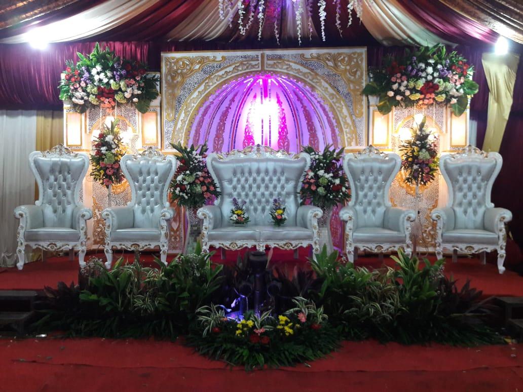 Jasa Vendor Dekorasi Bunga Pelaminan 037