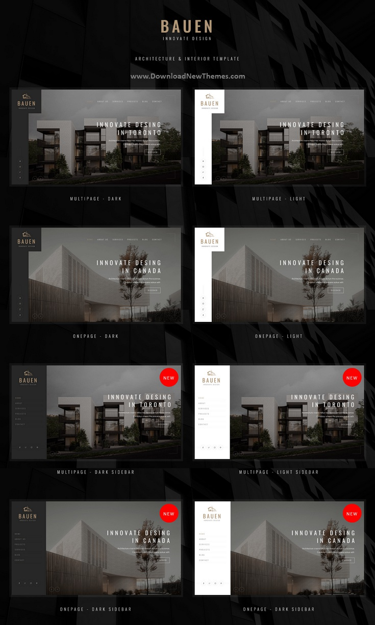 Architecture and Interior Template