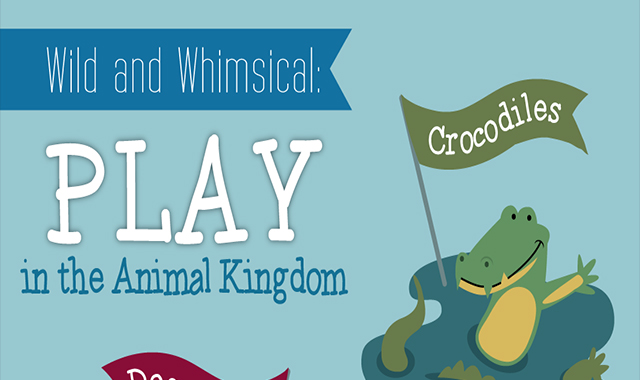 In the Kingdom of Animals, Wild and Whimsical #infographic