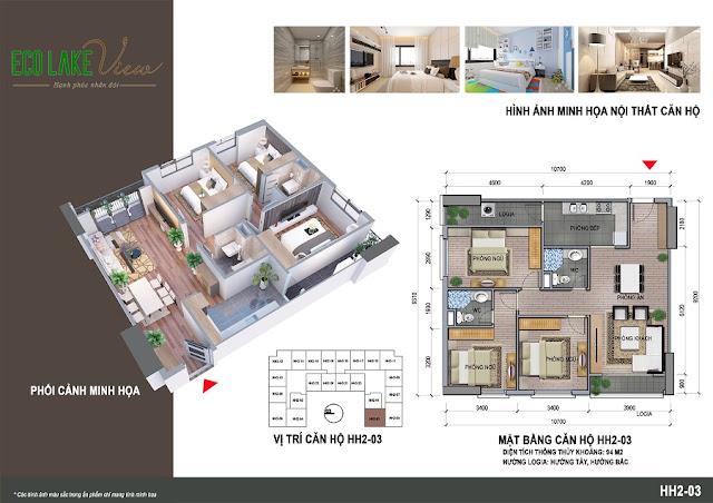 Thiết kế căn hộ HH-03