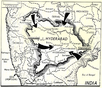 Annexation of Hyderabad to India