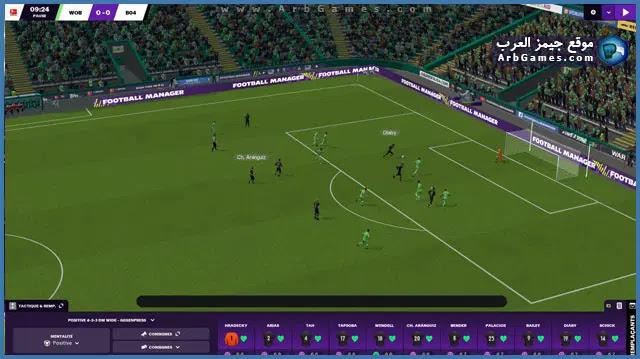 تحميل لعبه Football Manager 2021 للكمبيوتر من ميديا فاير