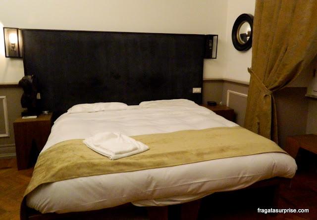 Quarto do bed&breakfast Cote Rome Colosseo, em Roma
