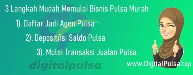 Cara Bisnis Jualan Pulsa Bersama DigitalPulsa.top CV Digital Payment Online