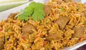 ارز كابلى باللحم