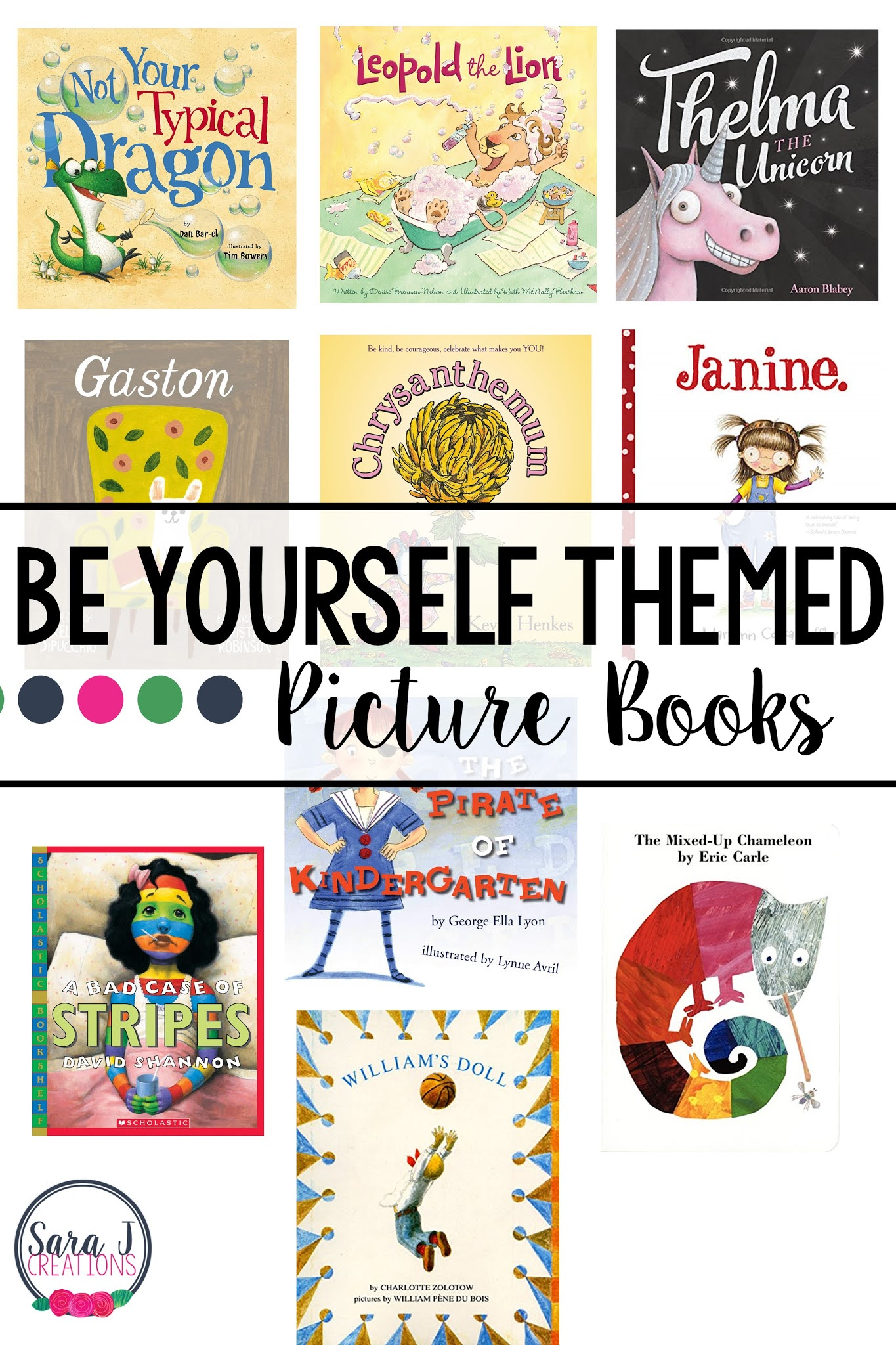 Teach children to be themselves with the help of these ten picture book ideas.