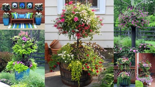 Μεγαλώστε τον διαθέσιμο χώρο σας για φυτά με DIY γλάστρες ...ανθοστήλες