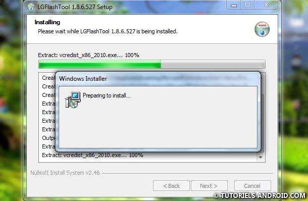 Installer LG Flash Tool