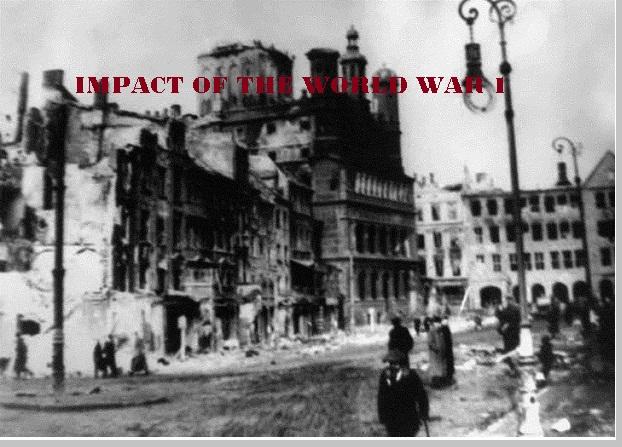 Dampak perang dunia 1 - pustakapengetahuan.com