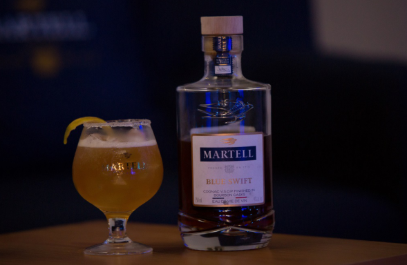 Martell redefines the standards with the unveiling of Martell Blue Swift at H.O.M.E by Martell Event hosted by Wale, M.I and Myster 24