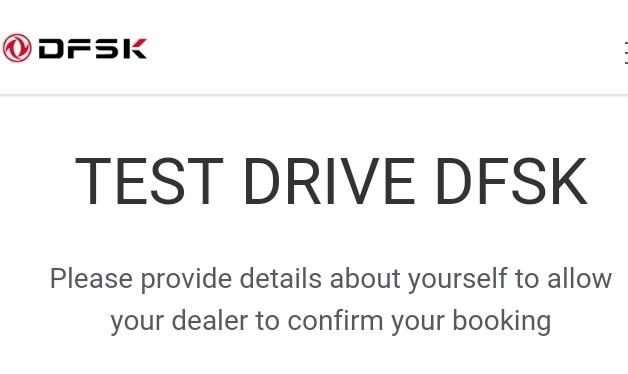 Test Drive DFSK Glory 580 2018