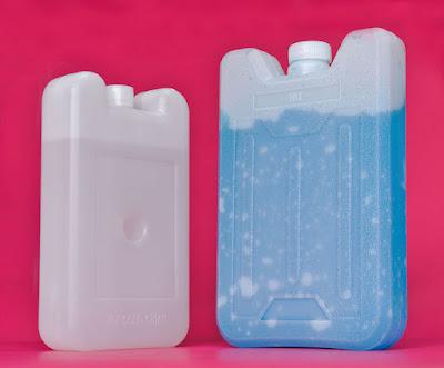 Ice packs 400 mL 600 agua gel para termos porta vacunas
