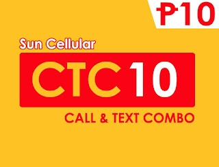 Sun CTC10 – FB, Calls and Texts to All for only 10 Pesos