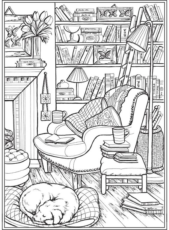 Dogs coloring pages 35