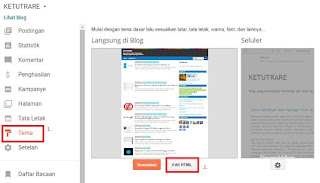 dashboard blogger ketutrare