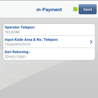 Bayar Indihome via m-Banking BCA