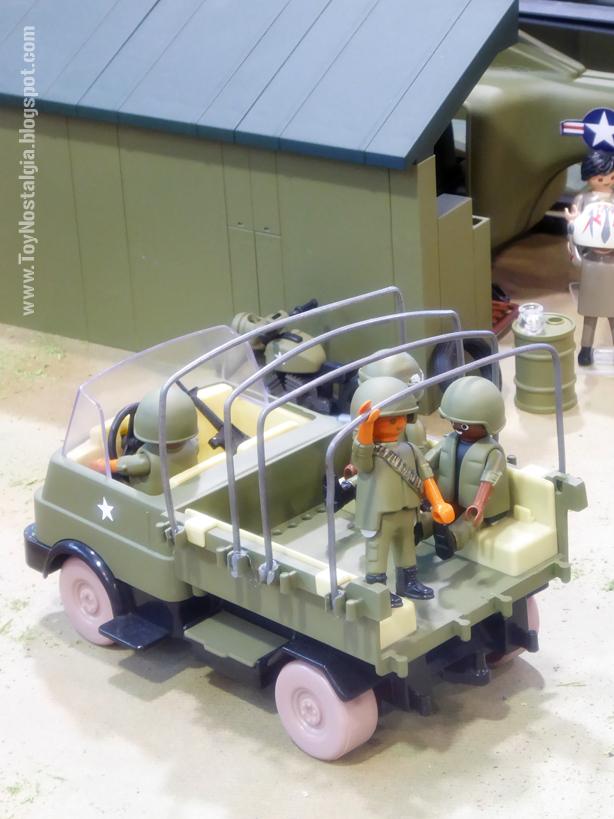 "Diorama Playmobil ""Guerra de Vietnam"" (Cocheras de Sants - 2020)"