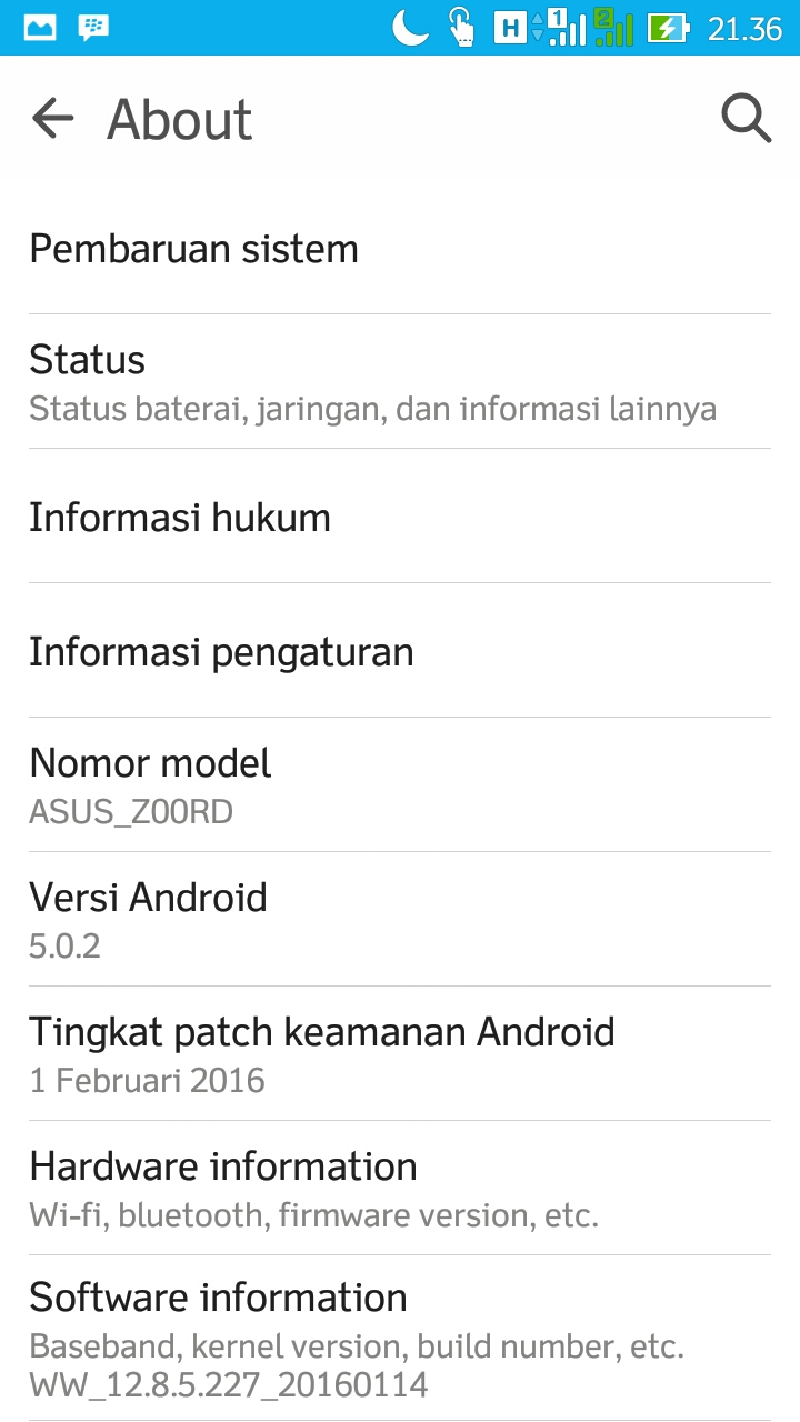 Tingkat Patch Keamanan Android