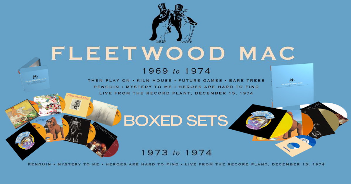 Fleetwood Mac News: Fleetwood Mac Early Years CD / LP Collections Available  September 4th