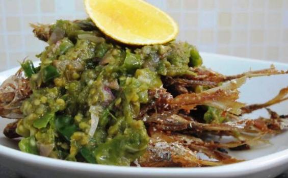 membuat menu masakan ikan selar siram ijo pedas maknyus pingin masak enak Resepi Ikan Selar Masak Pedas Enak dan Mudah