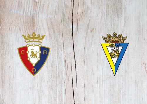 Osasuna vs Cádiz -Highlights 11 May 2021