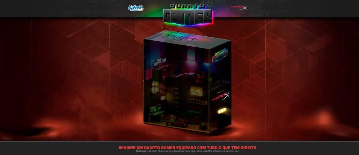 Promoção Kabum 2020 Quarto Gamer Hyperx