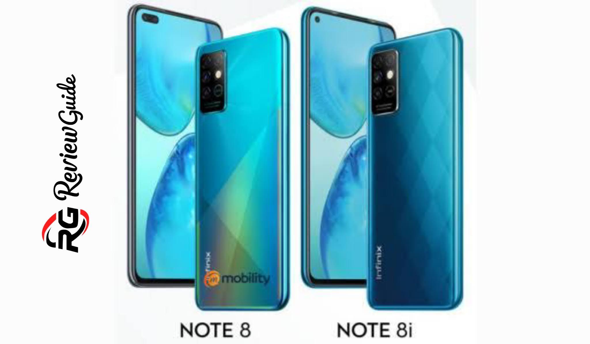 Infinix Note 8 Spec