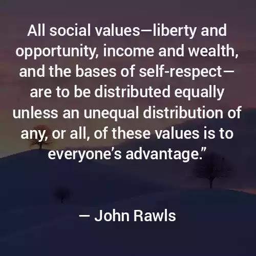 John Rawls Quotes in English