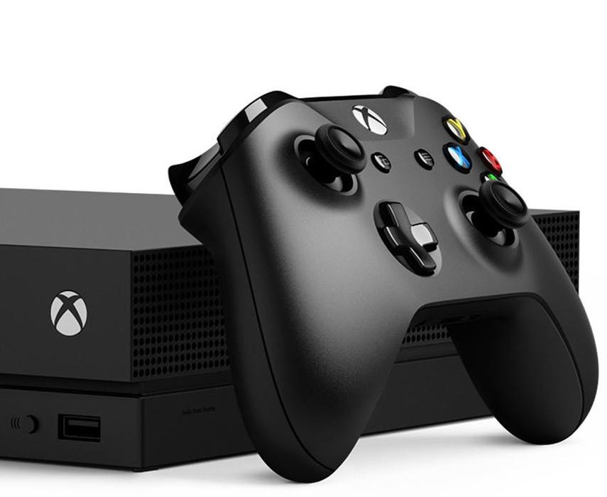 Xbox One X 1TB Black