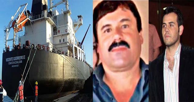 """Así era el plan de """"El Chapo"""" y """"El Vicentillo"""" para enviar cocaína en los grandes buques petroleros de Pemex"""
