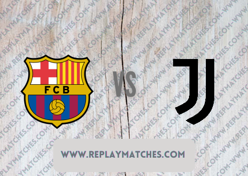 Barcelona vs Juventus -Highlights 08 August 2021