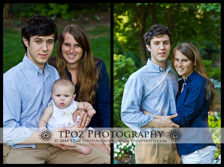 sherwood gardens family portrait
