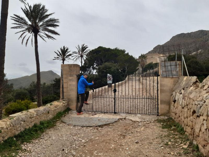 Verso las Casas de Bóquer - Mallorca
