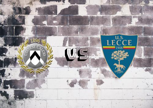 Udinese vs Lecce  Resumen