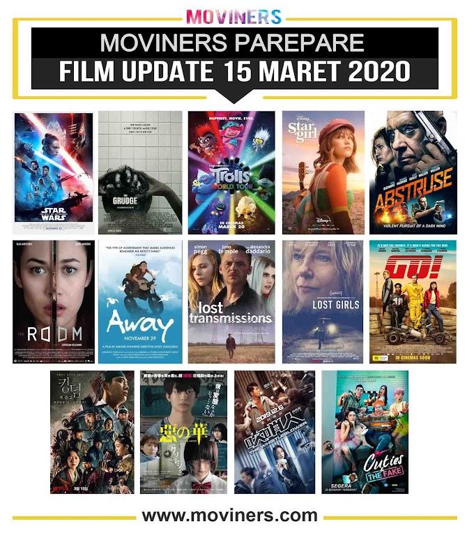 FILM UPDATE 15 MARET 2020