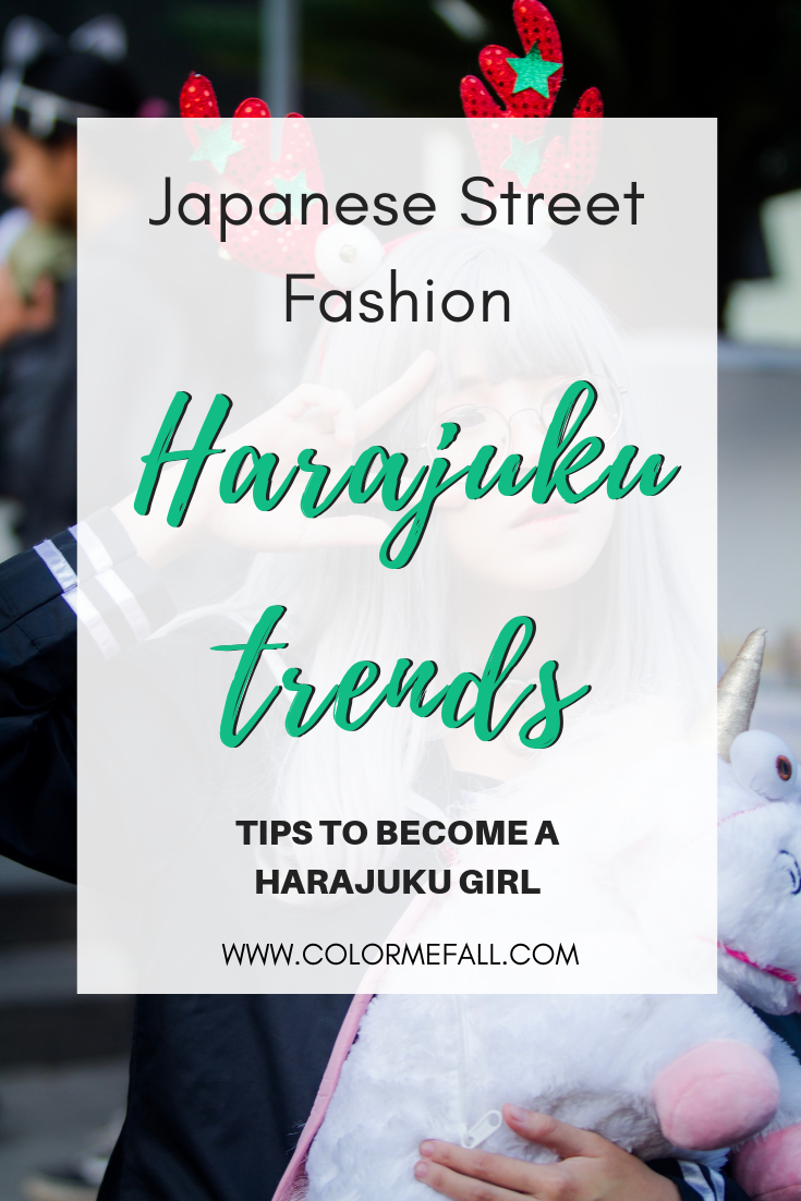 Harajuku Style Clothing - Japanese Street Fashion Culture