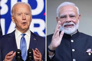 प्रधानमंत्री मोदी और अमेरिकी राष्ट्रपति बाइडेन ने की पहली बार बात