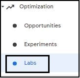 AdSense new labs