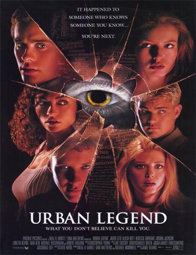 Ver Leyenda urbana (Urban Legend) (1998) Online